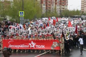 В Подмосковье в акции «Бессмертный полк» примут участие около 1,5 миллионов человек